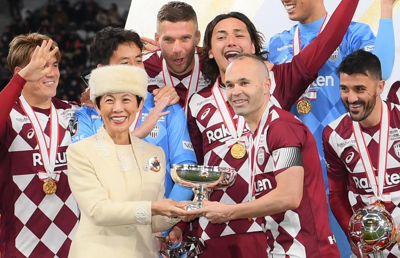 【神戸】イニエスタがJリーグ5月延期に理解「練習できることに感謝」。5月10日の再開初戦は浦和レッズ戦